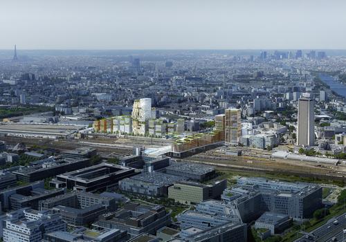 Pleyel,un nouveau quartier métropolitain